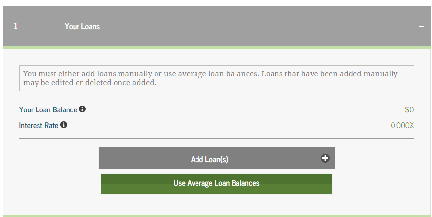 Student Loan Repayment Calculator