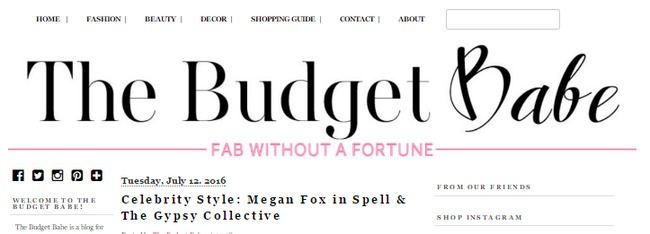 The Budget Babe - Personal Finance Blog