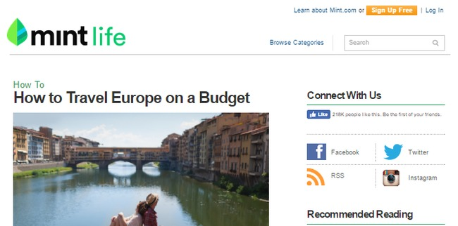 mint blog - personal finance blog