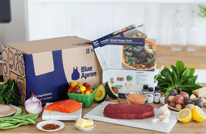 Blue Apron Meal Delivery Box