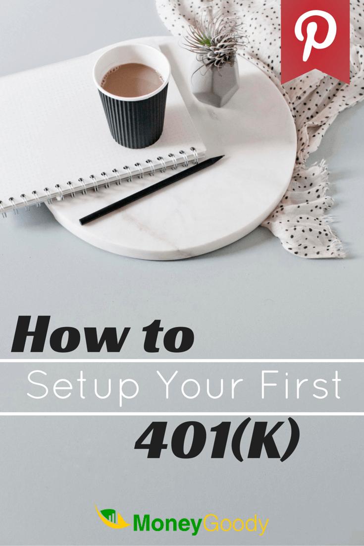 How to setup 401k