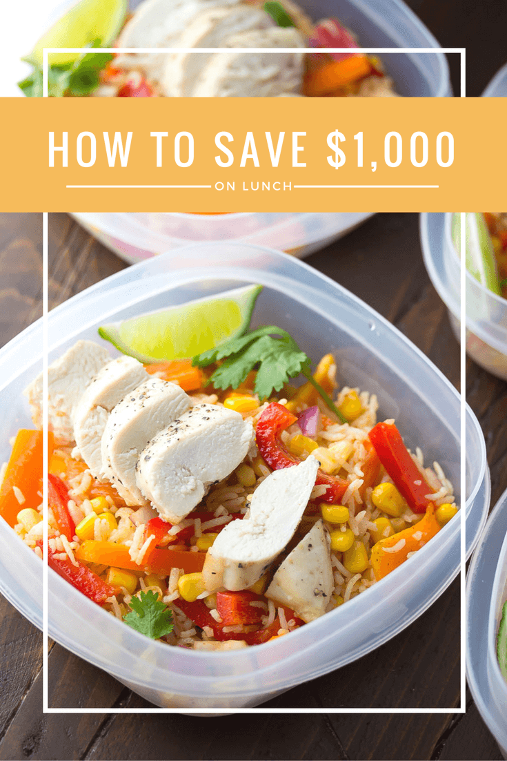 how to save money on lunch at work